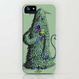 Id Monster iPhone Case