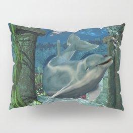 Wonderful dolphin Pillow Sham