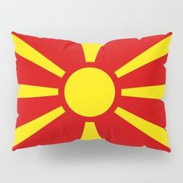 Macedonian national flag Pillow Sham