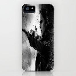 Hermione dark iPhone Case