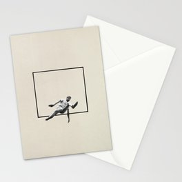Hurdle (Rectangle) Stationery Cards