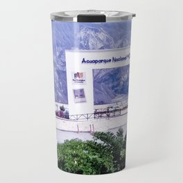 View of the national park of Chicamocha Travel Mug