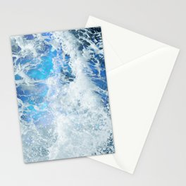 Blue Ocean Glow Stationery Cards