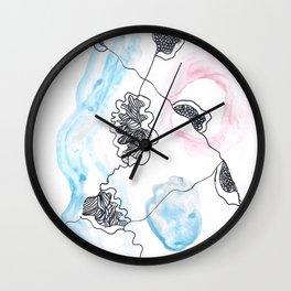 Scandi Micron Art Design   170412 Telomere Healing 11 Wall Clock