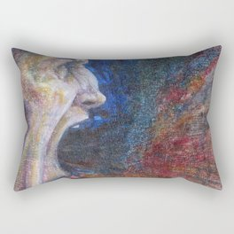 Anger's Issue Rectangular Pillow