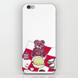 Teddy bear's picnic iPhone Skin