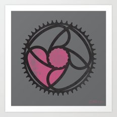 Got Love for Bikes Art Print