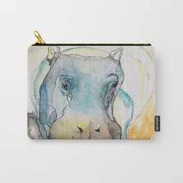 Baby Hippopotamus Carry-All Pouch