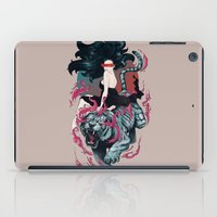 beauty and the beast iPad Cases featuring Beauty and the Beast by Artemple