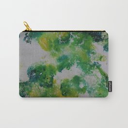 Its about space - in greens and yellows Carry-All Pouch
