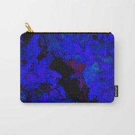A dark blue crash Carry-All Pouch