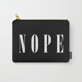 Nope Funny Quote Carry-All Pouch