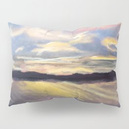 Summer Sunset Over Lake Winnipesaukee in New Hampshire Pillow Sham
