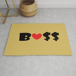 Boss (gold) Rug