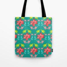 Flowering lilies Tote Bag