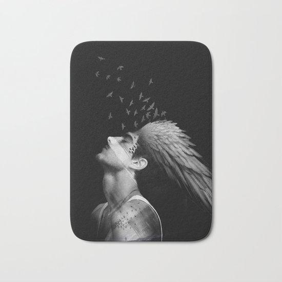 Icarus Dreaming Bath Mat