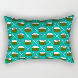 Feed Me- Sushi Pattern Rectangular Pillow