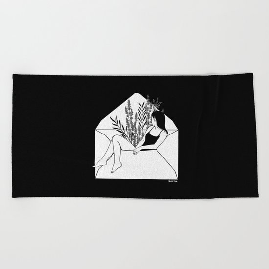 Dear Heartbreaker Beach Towel