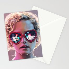 Electrick Girl Stationery Cards