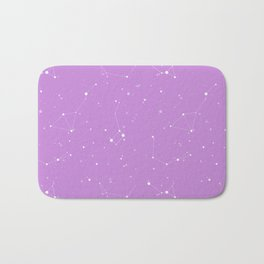Lavender Night Sky Bath Mat