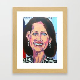 Taliban Republican: Michele Bachmann Framed Art Print