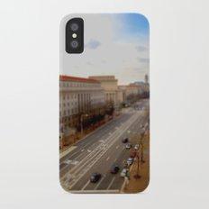 Tilt Shift - Pennsylvania Ave Slim Case iPhone X