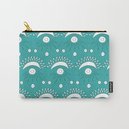 Moon and Rays Carry-All Pouch