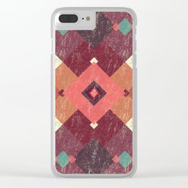 Mandala Indian Summer Clear iPhone Case