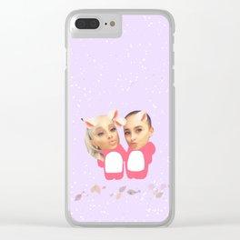 Ariana 508 Clear iPhone Case