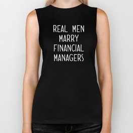 Real Men Marry Financial Managers Future Husband currency traders Biker Tank