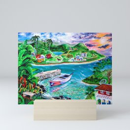 Isla del Encanto - Heart of the Island Mini Art Print