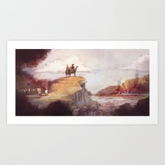Eighteen-twelve - Niagara Art Print