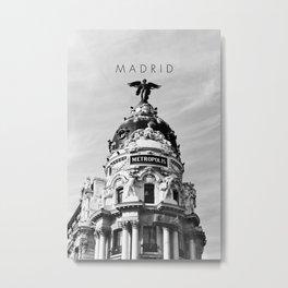 Madrid.v2 Metal Print