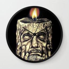 The Light of Wisdom Wall Clock