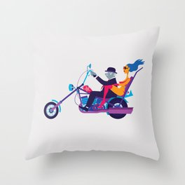 Mid-Life Crisis Throw Pillow