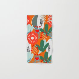 Cacti, fruits and flowers Hand & Bath Towel