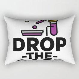 Drop The Base Rectangular Pillow
