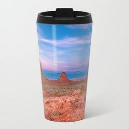 Westward Dreams - Sunset in Monument Valley Travel Mug