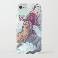 band iPhone & iPod Cases featuring The Vaccines (band poster) by Logan  Faerber