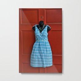 Fashionable Door Metal Print