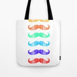 Moustache you a question!  Tote Bag