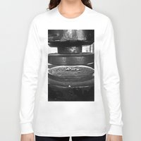 shakespeare Long Sleeve T-shirts featuring Shakespeare Seal by JezRebelle