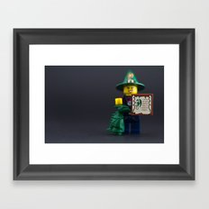 You are powerful Framed Art Print