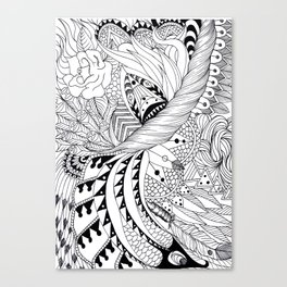 Ornate pattern Canvas Print