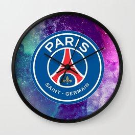 Paris Saint Germain Galaxy Design Wall Clock