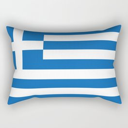 Flag of Greece Greek Rectangular Pillow