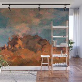 Earning Smokey Topaz Wall Mural