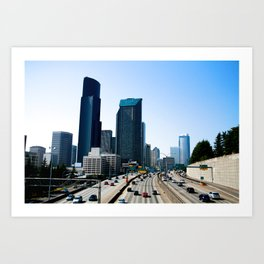 Taking Seattle Back Art Print