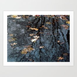 Rippled Reflection  Art Print