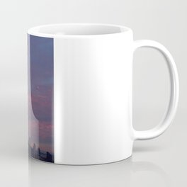 Downtown Seattle and Mt Rainier at Sunrise Coffee Mug